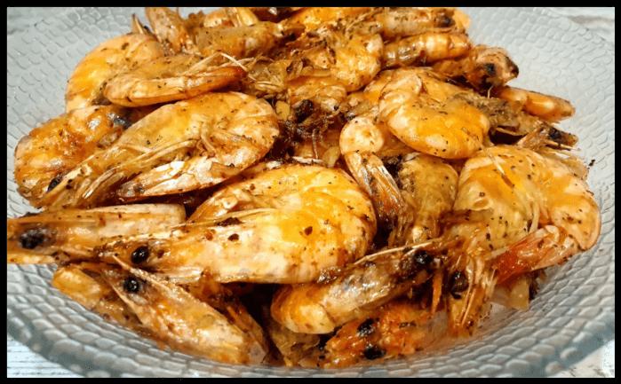 Жареные креветки-неповторимый вкус простейшего рецепта